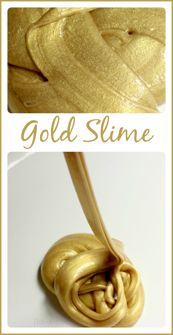 St. Patrick's Day Crafts - Gold Slime