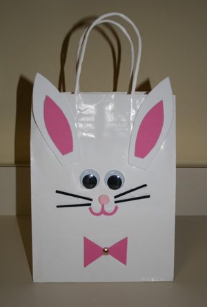 22 amazing easter basket ideas page 14 of 23 my list of lists easter bunny bag craft 1 negle Choice Image