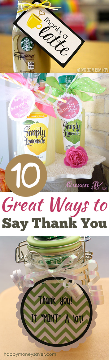 10 Great Ways To Say Thank You My List Of Lists