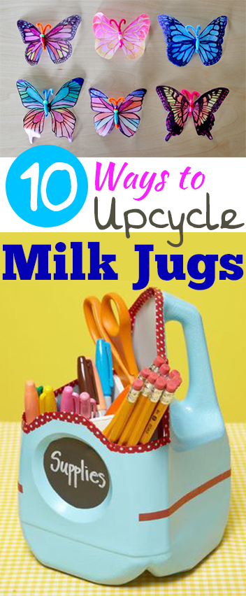 10 ways to upcycle milk jugs my list of lists for Upcycling 20 creative projects made from reclaimed materials