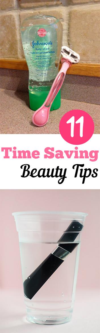 11 Time Saving Beauty Tips. Natural, DIY, natural remedies, natural remedies, health and beauty, DIY makeup. #beauty #health #beautytips #makeup #makeuphacks #hairandmakeup