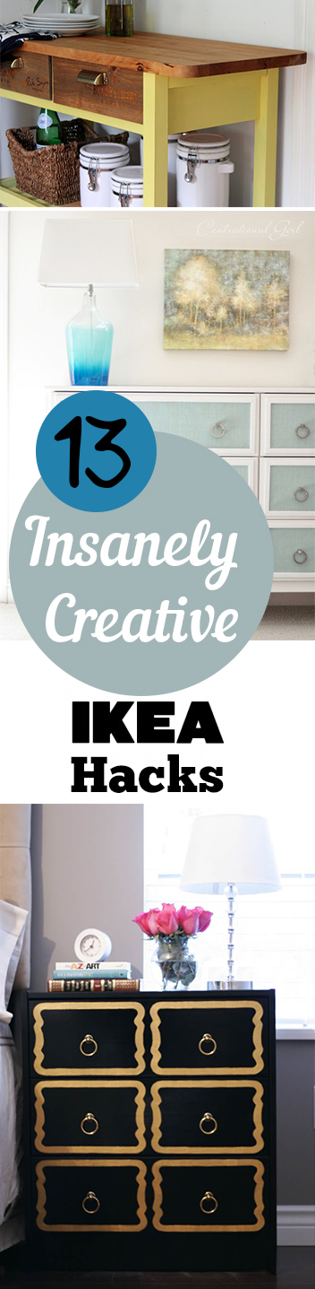 13 Insanely Creative IKEA Hacks