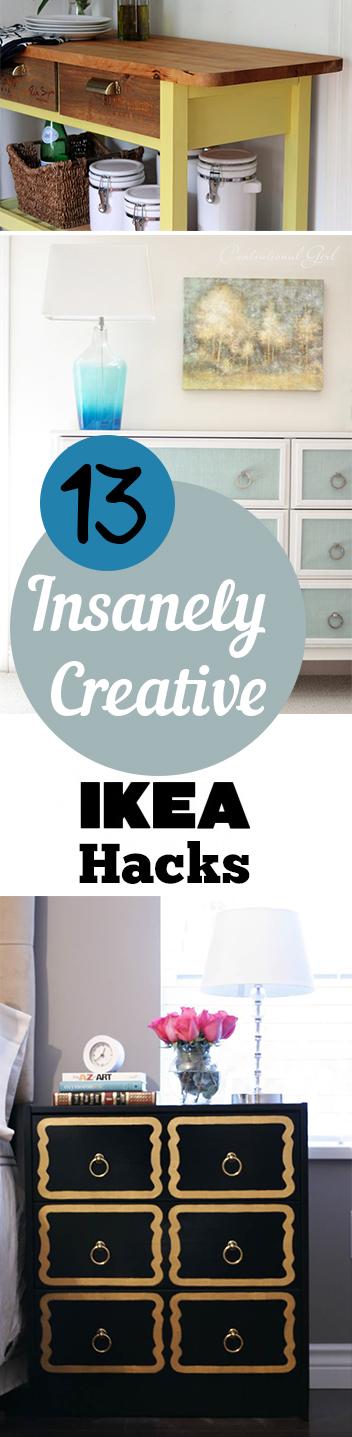 13 Insanely Creative IKEA Hacks