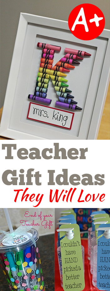 Classroom Keepsake Ideas ~ Teacher gifts ideas they will love my list of lists
