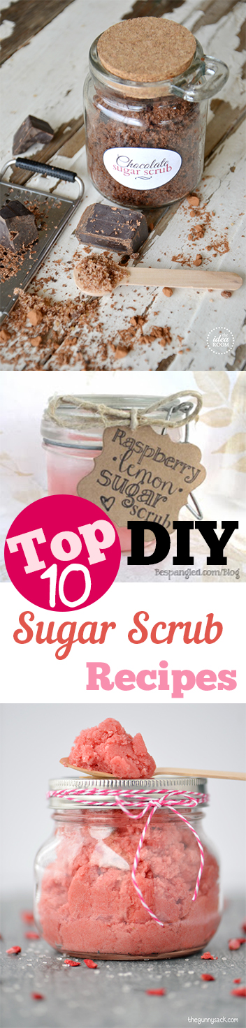 Top 10 DIY Sugar Scrub Recipes