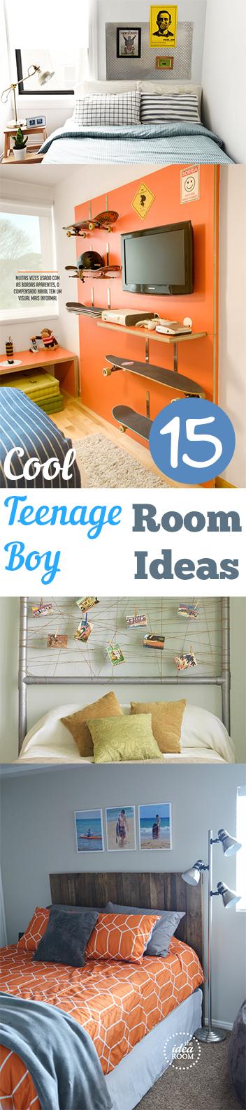 15 Cool Teenage Boy Room Ideas - My List of Lists