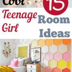 15 Cool Teenage Girl Room Ideas
