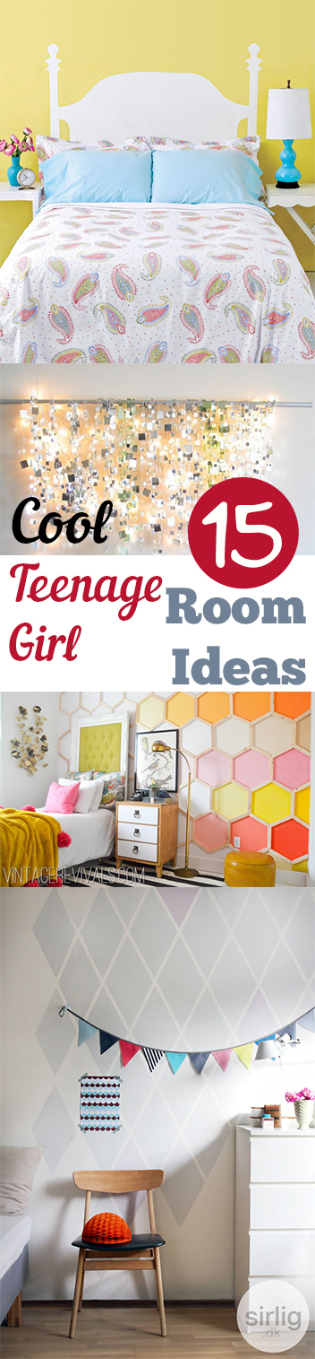 15 Cool Teenage Girl Room Ideas
