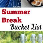 Summer break bucket list, pool hacks, summer activities, summer activities for kids, popular pin.
