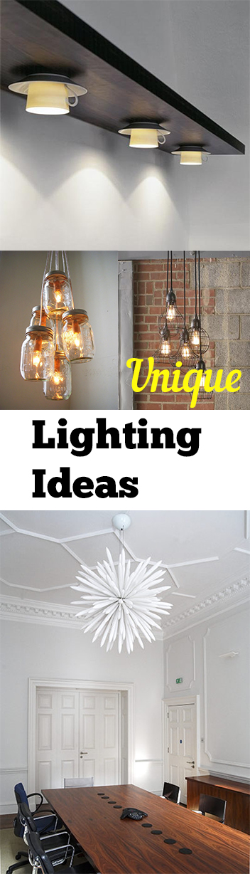 Unique lighting ideas 28 images 21 unique lighting design ideas recycling tableware and 10 - Creative lighting ideas ...