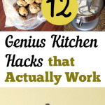 Kitchen, kitchen hacks, kitchen decor hacks, cooking hacks, kitchen organization, DIY kitchen organization, popular pin, cooking tricks.