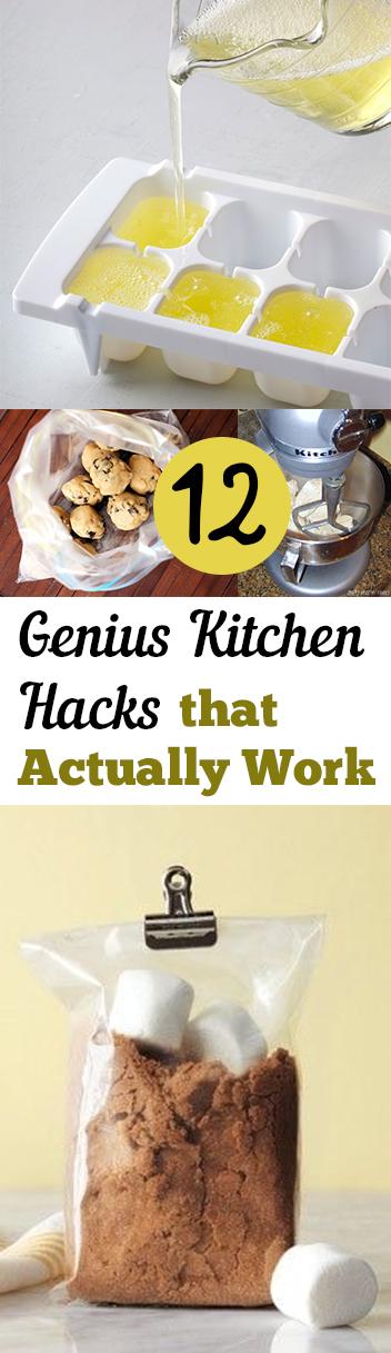 Kitchen, kitchen hacks, kitchen decor hacks, cooking hacks, kitchen organization, DIY kitchen organization, popular pin, cooking tricks.