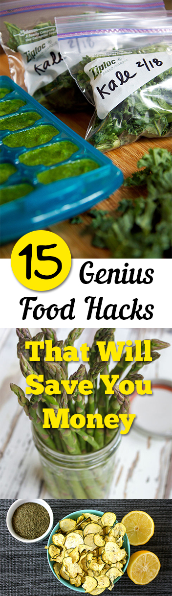 15 Genius Food Hacks That Will Save You Money