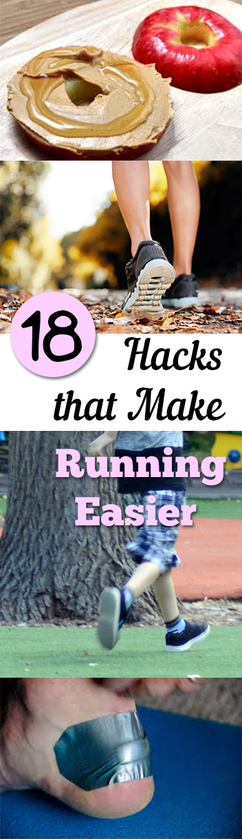Running hacks, exercise hacks, how to love running, easy running, popular pins, health, fitness, healthy living.