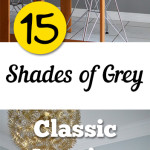19 Shades of Grey- Classic Interior Paint Color Choices