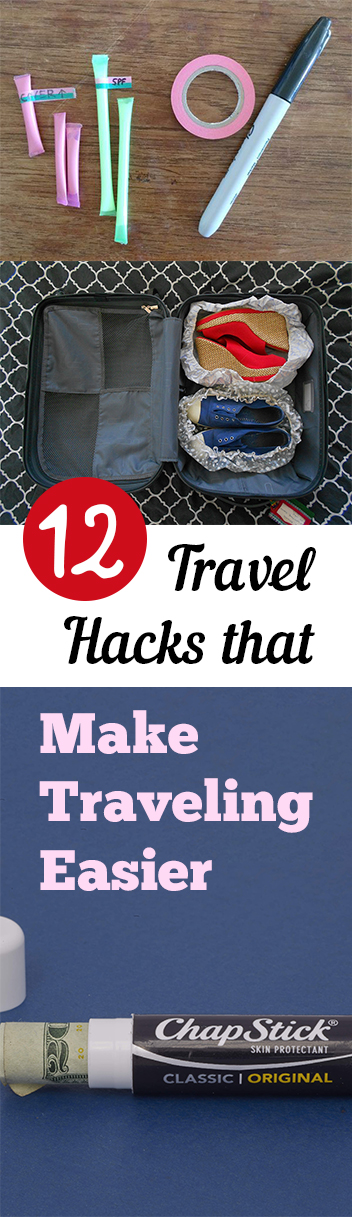 12 Travel Hacks that Make Traveling Easier
