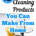 15 Cleaning Products You Can Make From Home