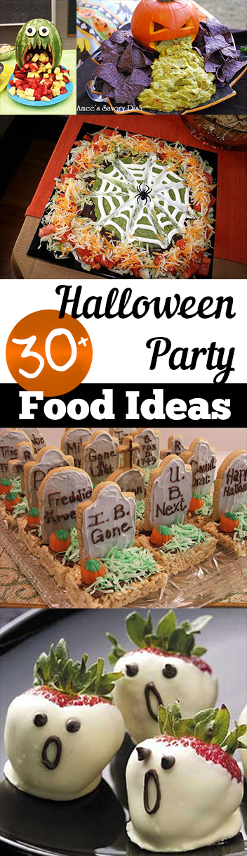 30 halloween party food ideas my list of lists for Easy halloween treats for work party