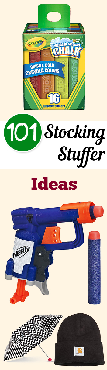 101 Stocking Stuffer Ideas