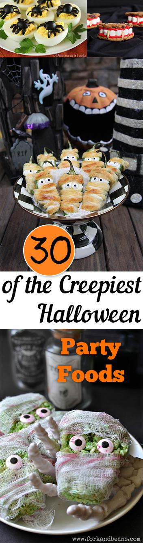 Halloween foods, party foods, Halloween party foods, spooky treats, popular pin, holiday recipes, easy recipes, Halloween recipe ideas.