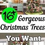 Christmas, Christmas trees, Christmas decor, popular pin, holiday decor, DIY holiday decor, Christmas tree inspiration.