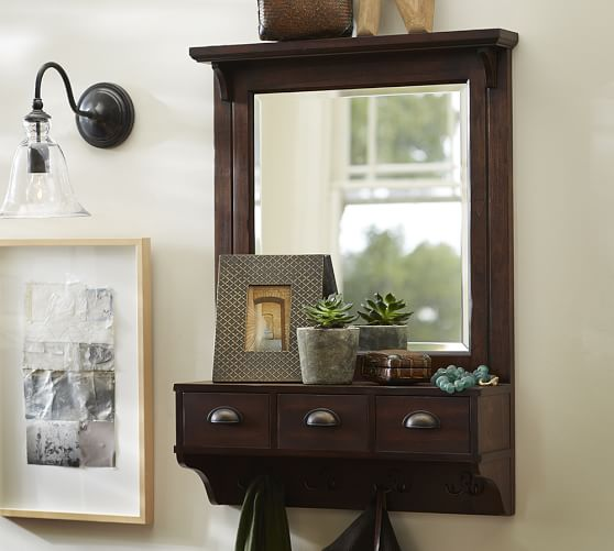 entryway mirror with hooks 25 ridiculously smart remodeling hacks that will change 29204