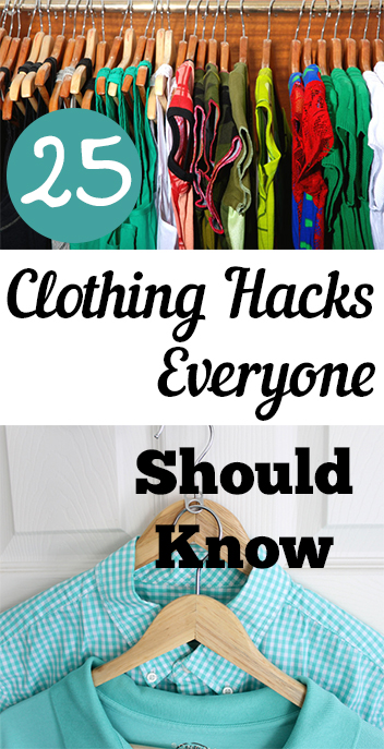 Clothing hacks, clothing, repurpose clothing, popular pin, clothes, save money, money saving hacks.
