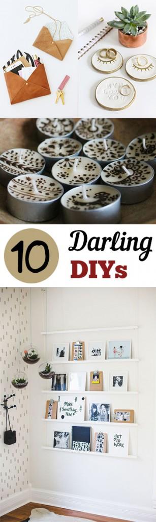 10 Darling DIYs