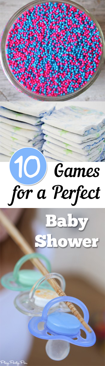 10 games for a perfect baby shower