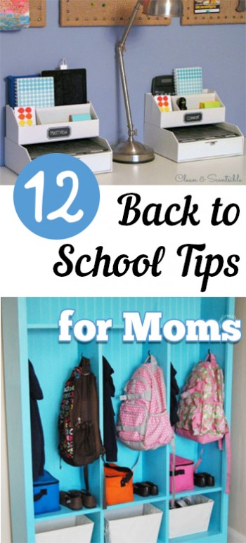 12 Back to School Tips for Moms