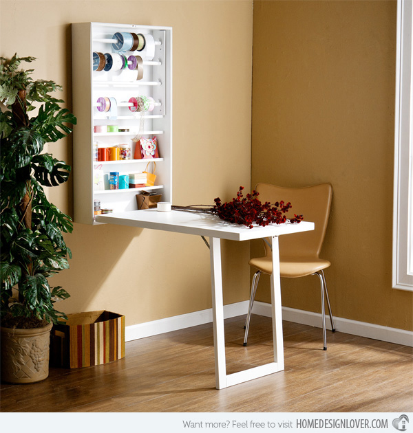 Diy Craft Room Table: 15 DIY Craft Rooms Inspired By IKEA