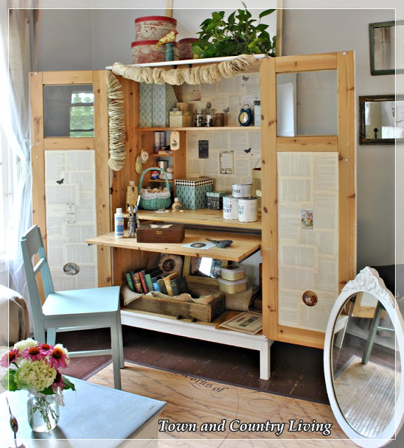 15 DIY Craft Rooms Inspired by IKEA15