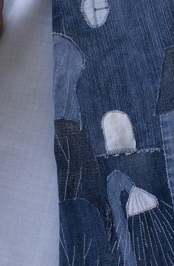 Did you know you can make a denim rug out of old denim jeans? Take a look at these unique ways to repurpose blue jeans.