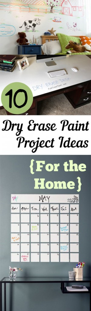 10 Dry Erase Paint Project Ideas {For the Home} (1)