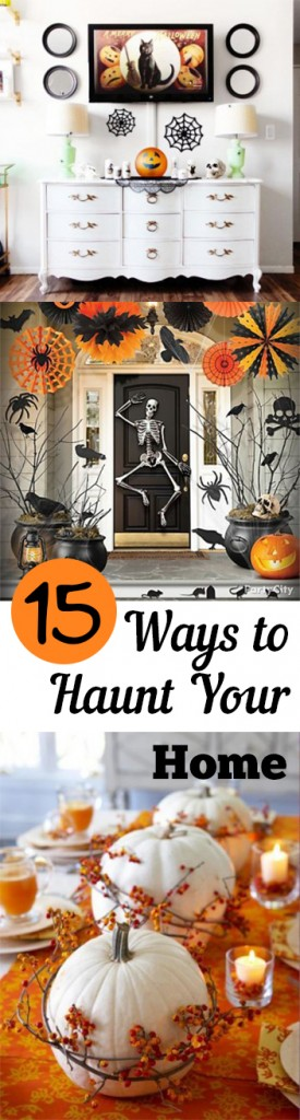 Haunted, haunted home, Halloween decorations, Halloween decor, popular pin, DIY Halloween decor, DIY holiday decor, fall holiday, fall holiday decor