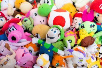 Nintendo Themed Stuffed Animals
