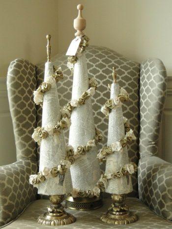 18-vintage-paper-christmas-cone-tree