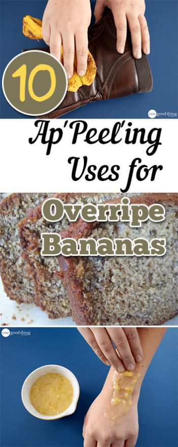 How to Use Overripe Bananas, Uses for Overripe Bananas, Natural Beauty Hacks, Natural Beauty Tips and Tricks, Banana Recipes, Popular Pin