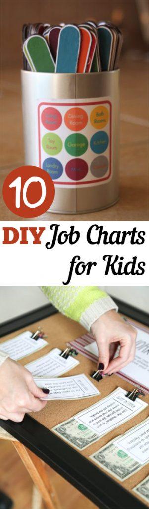 Job Charts, Job Charts for Kids, Kid Job Charts, Chore Charts, DIY Chore Charts, Easy DIY Chore Charts, Printable Chore Charts, Popular Pin, Homemade Chore Charts