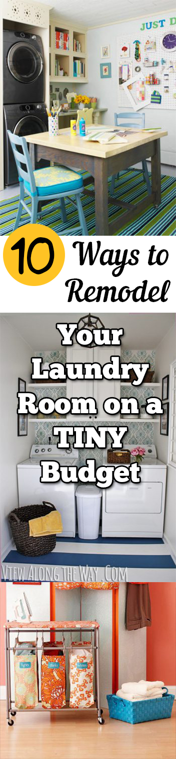Remodeling Your Laundry Room, Laundry Room Organization, Organizing on a Budget, Budget Laundry Room Organization, Laundry Room Organization Hacks, Laundry Room Remodeling, How to Remodel a Laundry Room