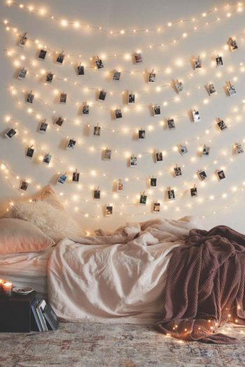 12 Ways to Decorate With String Lights