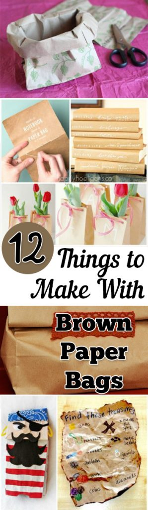 Things to Make With Paper Bags, How to Repurpose Brown Paper Bags, Recycling Brown Paper Bags, How to Recycle Brown Paper Bags, Crafts, Easy Crafts for Kids, Craft Ideas for Kids, Popular Pin
