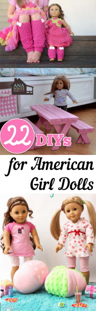22 Diys For American Girl Dolls Page 24 Of 24 My List Of Lists