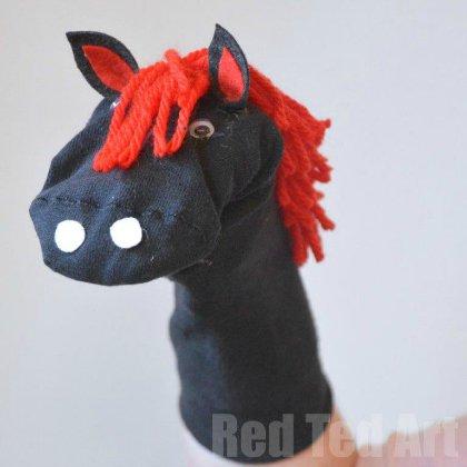 horse-puppet