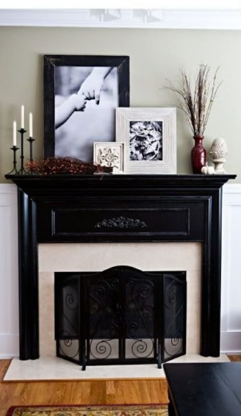 10+ Dramatic Ways to Decorate Above Your Mantle2