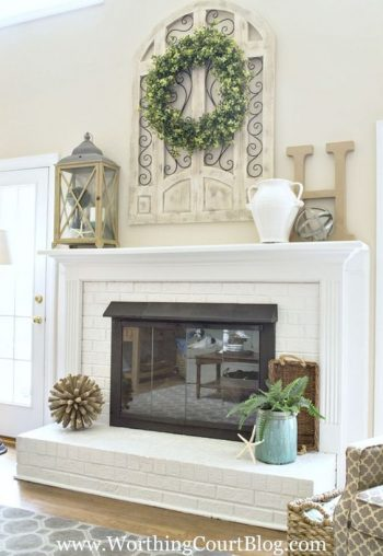10+ Dramatic Ways to Decorate Above Your Mantle4