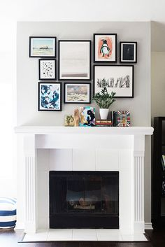 10+ Dramatic Ways to Decorate Above Your Mantle8