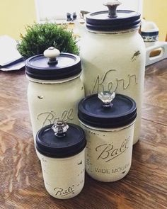 10 Simple Kitchen Canister DIY Projects