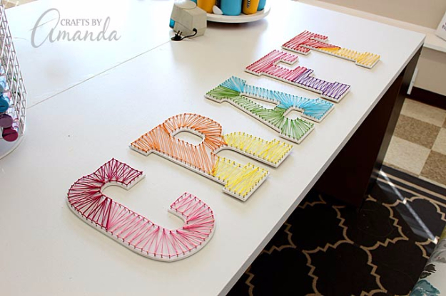 String Art, String Art Craft Projects, Craft Projects for Less, DIY String Art, Wall Decor, DIY Wall Decor, Crafting, Craft Projects, Easy Craft Projects, Simple Craft Projects, Popular Pin