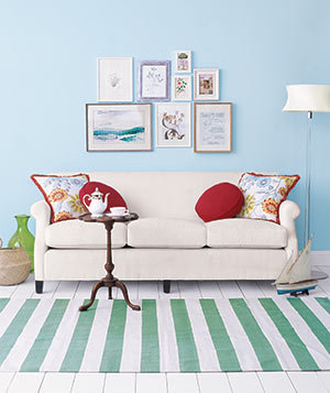 12 Simple Ways to Add A POP Of Color To Every Room10